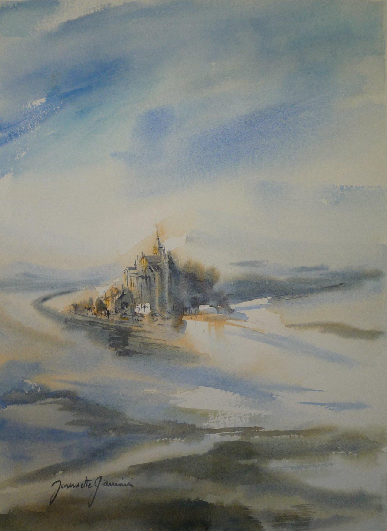 Le Mont Saint Michel       Vendu