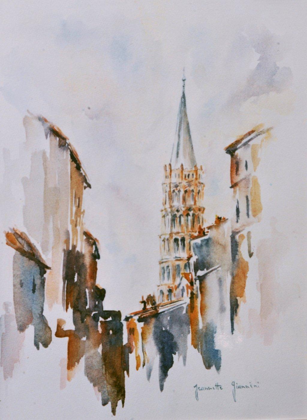 Le clocher Saint Sernin