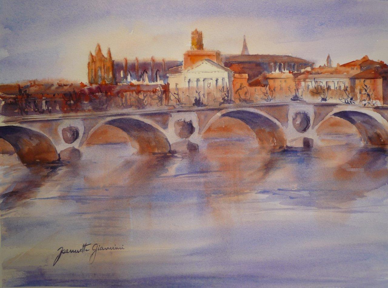 Toulouse Le Pont Neuf   -