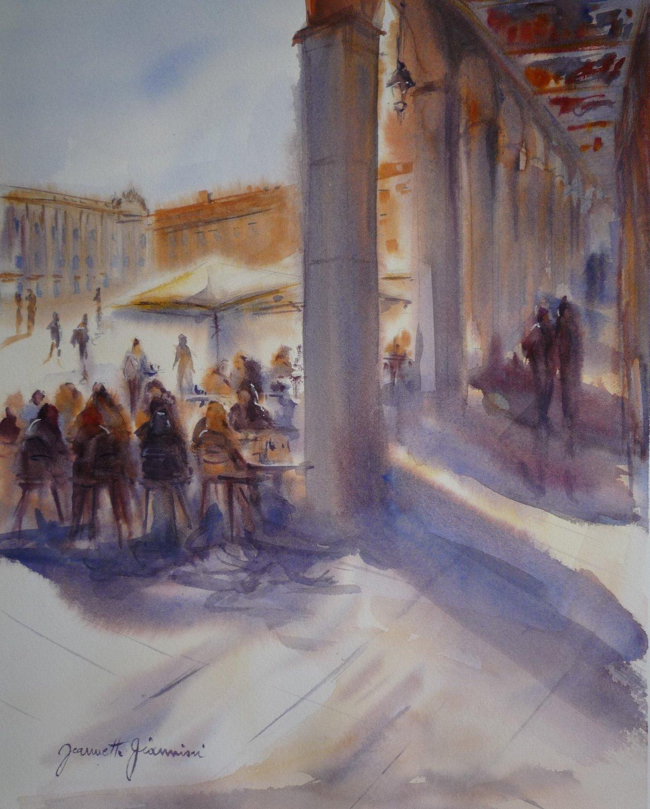 <center><b>Toulouse- Soleil sur la place du Capitole</b></center>