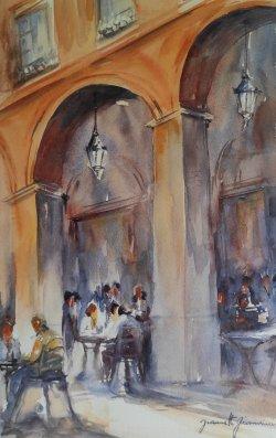 Sous les arcades du Capitole - Toulouse