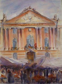 Toulouse Le marché du Capitole