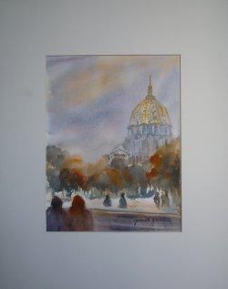 Paris le dôme des Invalides