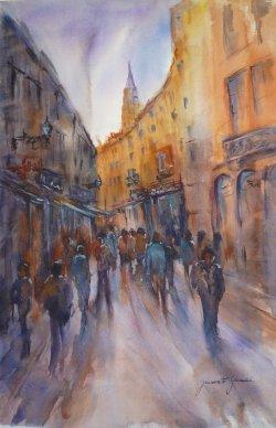 Toulouse Vers Saint Sernin Rue du Taur