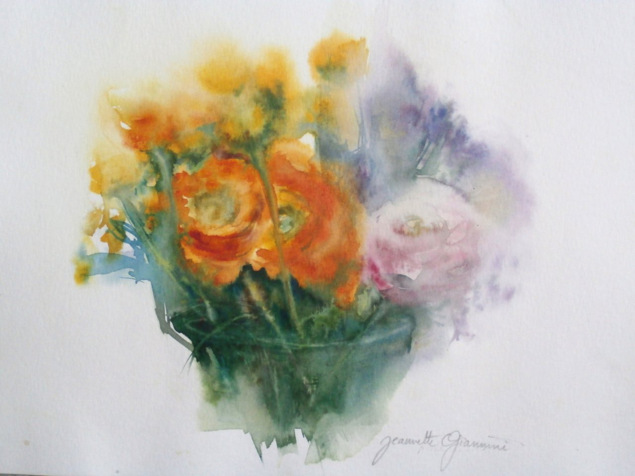 Fleurs    VENDU
