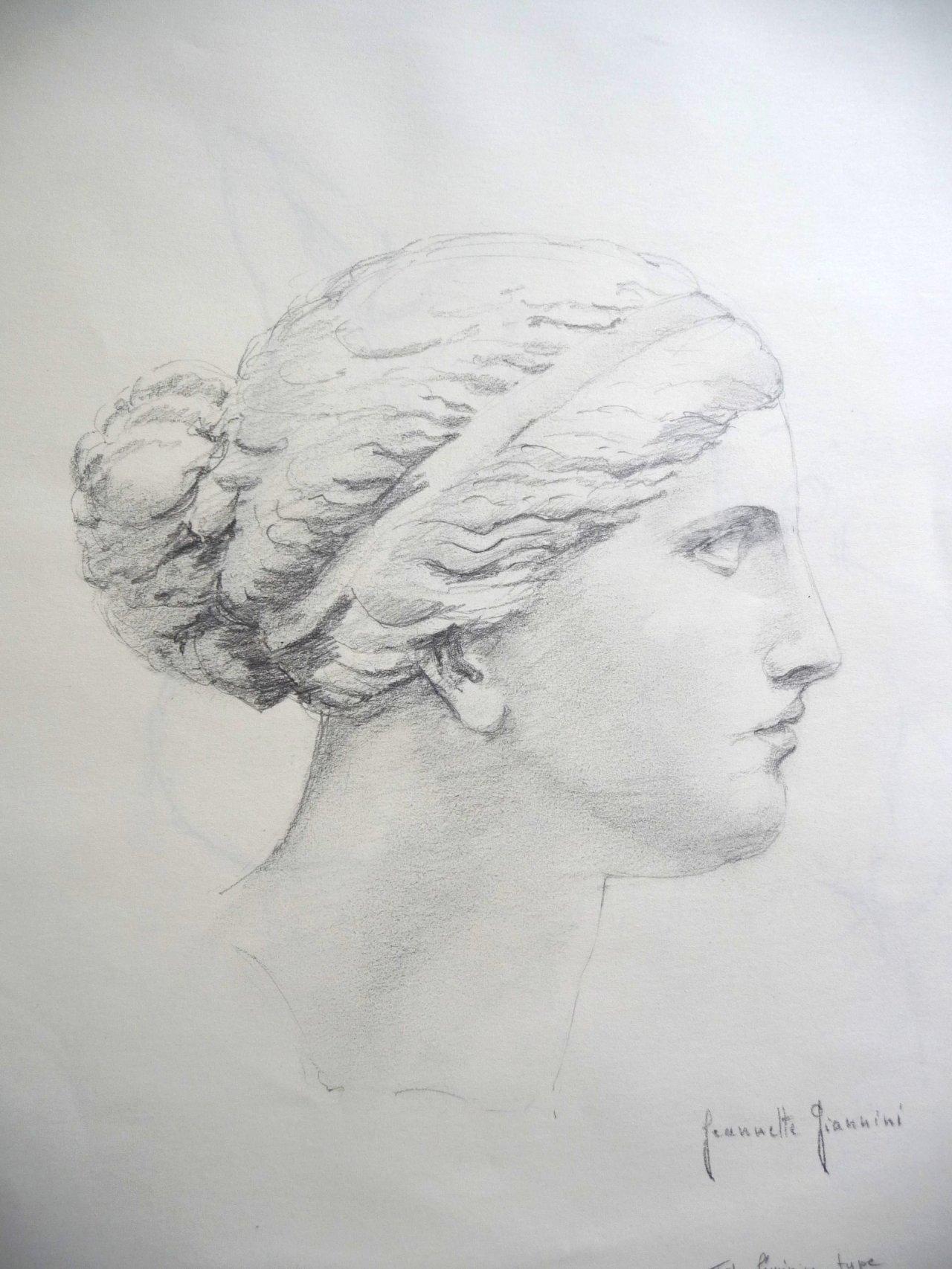 Tête d'Aphrodite