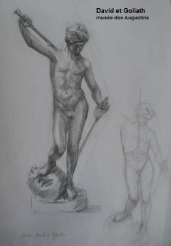 David et Goliath Musée des Augustins Toulouse
